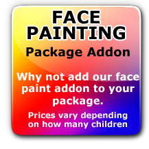 Face Painting Hire Deposit
