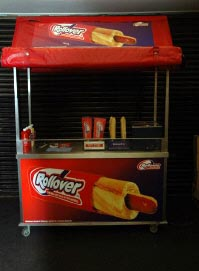 Rollover Hot Dog Hire