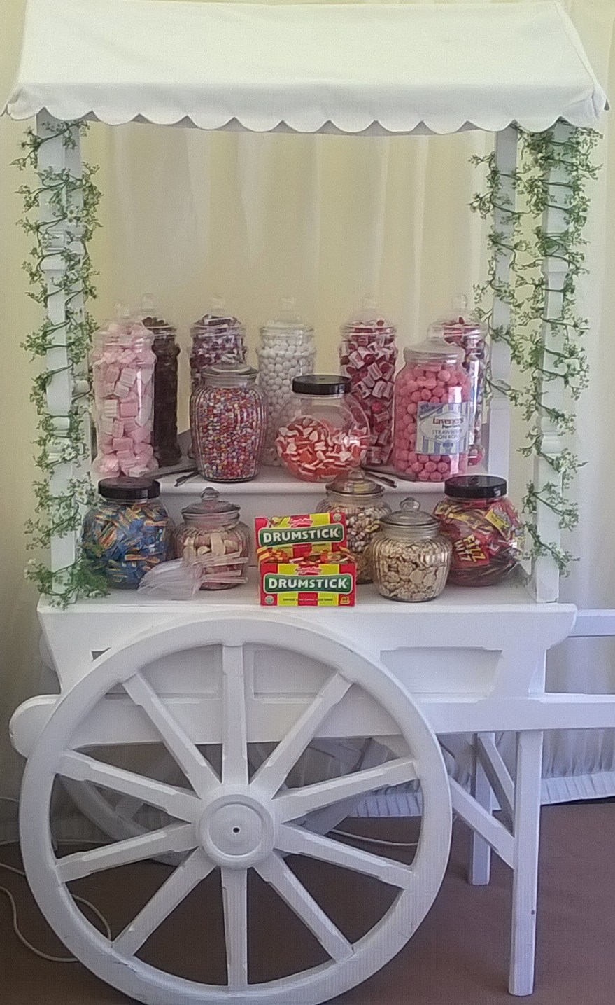 Kandy King Catering Events Sweets Cart